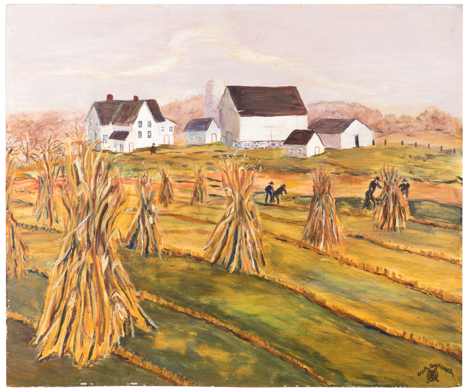 Amish Harvesting