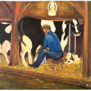 11 – Amish Milking